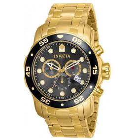 Relógio Invicta Pro Diver 80064 Masculino Dourado