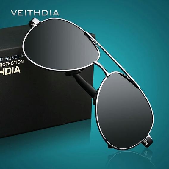 Gafas De Sol Veithdia Polarizadas Lentes Hombre Moda