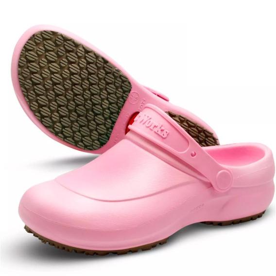 Sapato Bb60 Antiderrapante Médicos Enfermeiros Preto