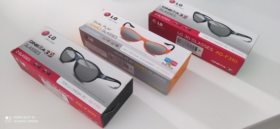 Smart Tv Lg 3 D C/ 6 Óculos 3d