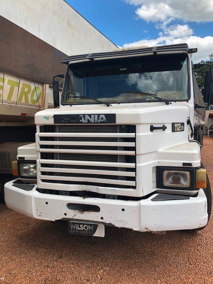 Conjunto Scania T 112 1986 + Reboque 1990
