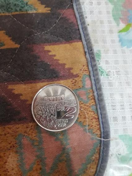 Moneda De Evita Edición 2002
