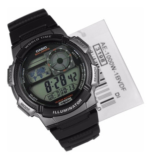 Reloj De Hombre Casio Digital Ae1000w 30% Off + Regalo !!