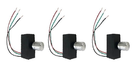 Kit 3 Chave Reguladora De Pressão Para Pulverizador 12v Ldc