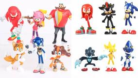 Kit Duplo Sonic Boom Com 12 Bonecos Pronta Entrega