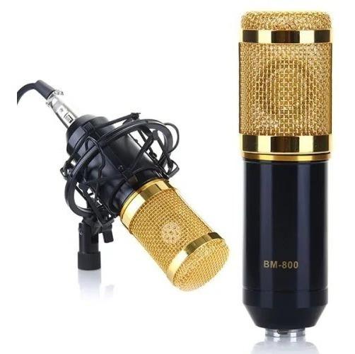 Microfone Condensador Bm 800 Promoção