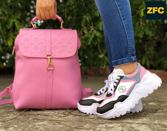 Zapatos Colombianos En Combo Zapato Y Bolso