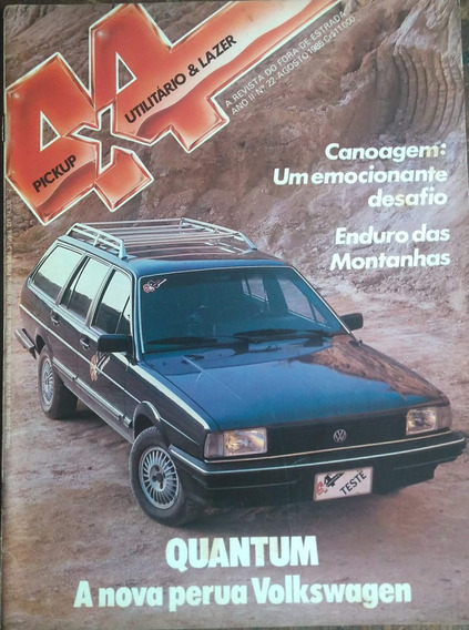 Revista 4x4 Nº22 Agosto 1985 Poster: Quantum
