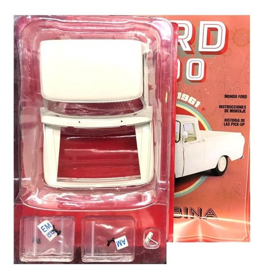Ford F100 Para Armar Nº 29 Aletas Y Puerta De Caja Trasera