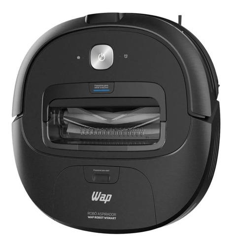 Aspirador robô multifunção Wap Robot Wsmart preto 110V/220V
