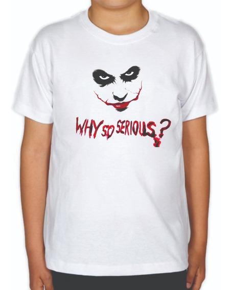 Playera El Joker De Niño Why So Serious? El Guasón The Joker
