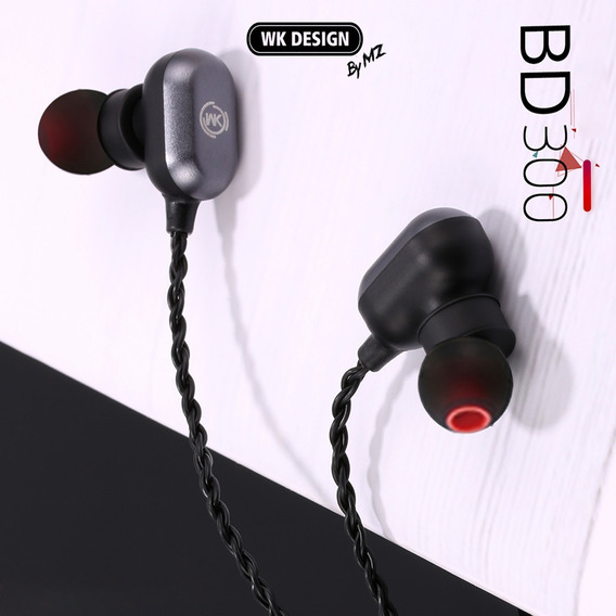 Fone Wk Design Bd300 Bluetooth 4.2 Com Microfone