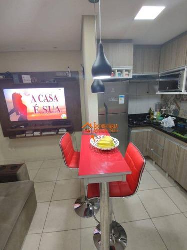 Imagem 1 de 21 de Apartamento Com 2 Dormitórios À Venda, 41 M² Por R$ 165.000,00 - Parque Continental - Guarulhos/sp - Ap3116