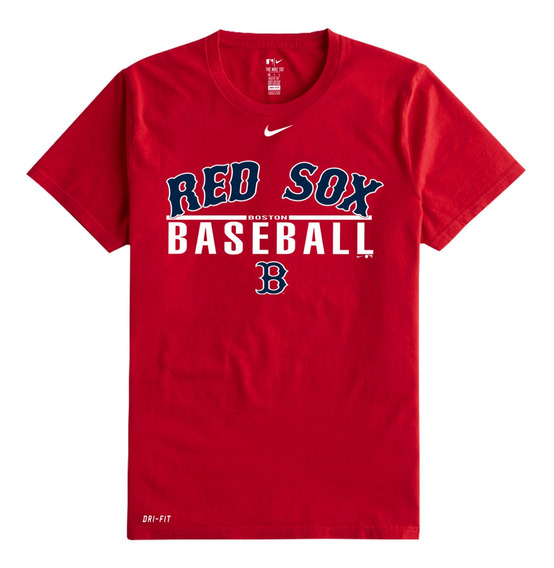 Playera Camiseta Nike Red Sox Caballero