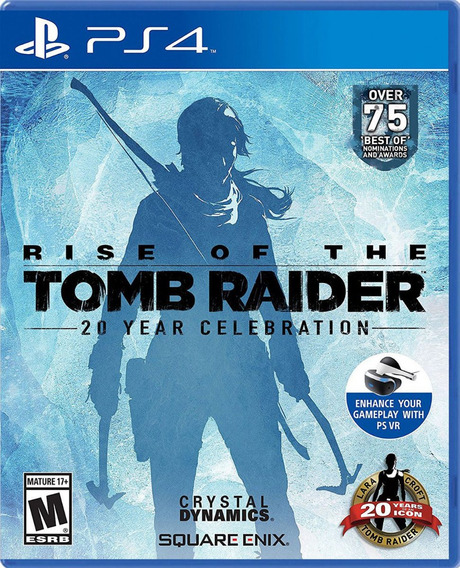 Rise Of The Tomb Raider 20 Años Ps4 Nuevo Sellado Físico