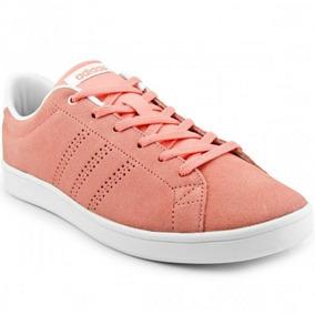 Tênis adidas Advantage Clean Qt Rosa Feminino Frete Grátis