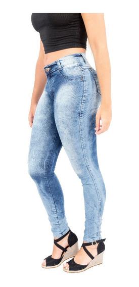 Calça Jeans Feminina Cintura Alta Hot Pants Vários Modelos Várias Cores