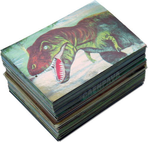 Set Láminas Álbum Jet El Mundo De Los Animales Prehistóricos