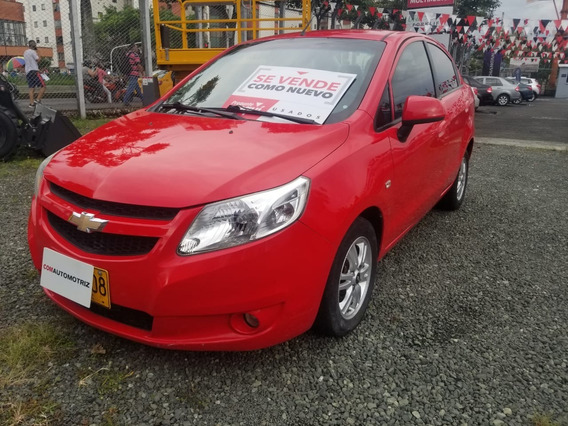 Chevrolet Sail Sedan Ltz Mecanico 2013