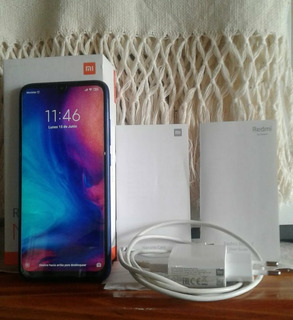 Vendo Celular Xiaomi Note 7 De 128gb, Usado Impecable!!!!!