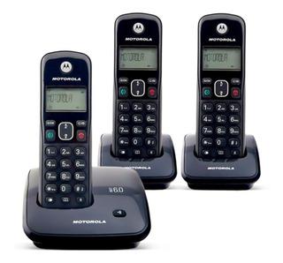 Telefone Sem Fio Motorola + 2 Ramal ( Amostra De Loja)