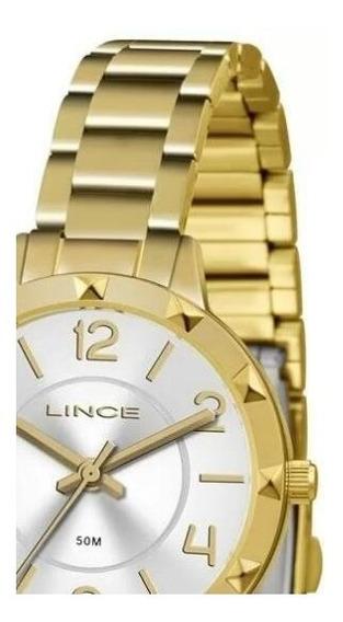 Relógio Feminino Lince Lrg4503l Analógico Casual Urbano