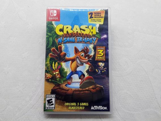 Crash Bandicoot N. Sane Trilogy - Switch - Gamercado