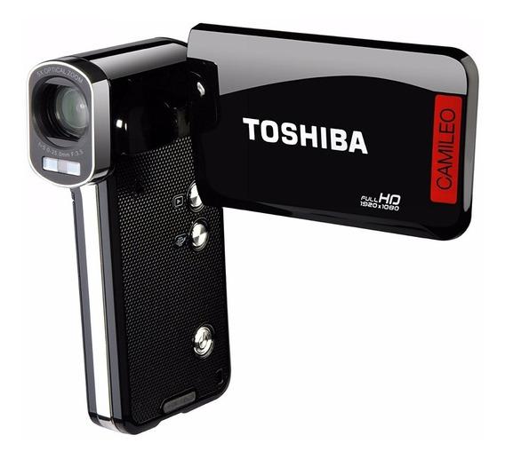 Camara Filmadora Toshiba Camileo P100,con Batería De Litio