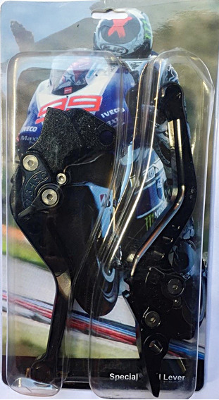 Manete Esportivo Ybr 125 A Disco Preto Maxx Premium 072135