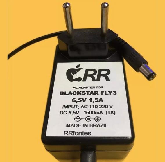 Fonte Carregador 6,5v 1,5a Caixa Blackstar Fly3 Amplificada