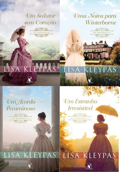 Kit Livros Os Ravenels 4 Livros - Lisa Kleypas - Lacrados!