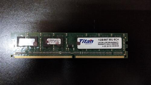 Memoria  1gb Ddr2 667mhz Titan