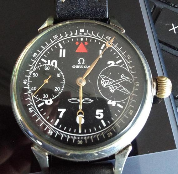 Reloj Omega De Transición Caja De Plata