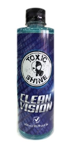 Toxic Shine Clean Vision - Limpia Vidrios Anti Empañante