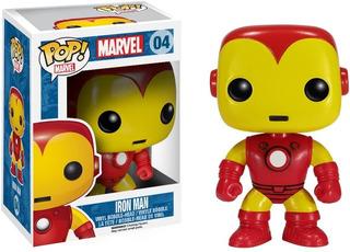 Funko Pop Marvel Iron Man 04 Original Licencia Oficial
