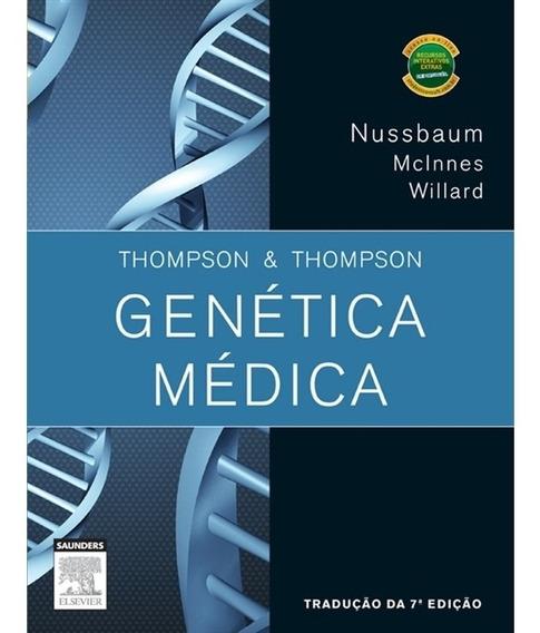 Thompson E Thompson Genética Médica, Com Student Consult