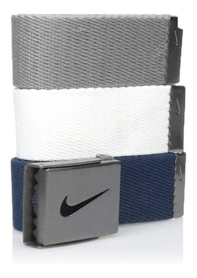 Nike - Cinturón De Golf Para Hombre (3 Unidades)