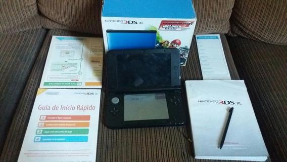 Nintendo 3ds Xl Desbloqueado Pronta Entrega