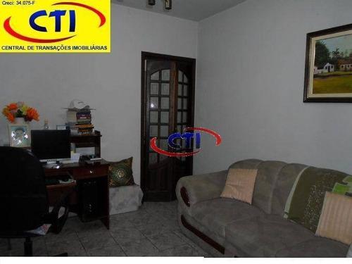 Casa  Residencial À Venda, Jardim Brasilândia, São Bernardo Do Campo. - Ca0027
