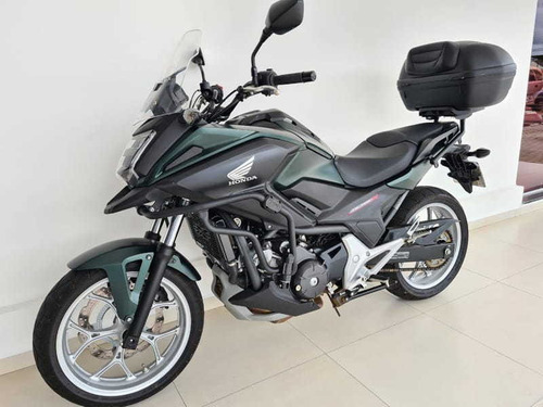 Honda Nc 750x Abs 2020 Verde Fosco
