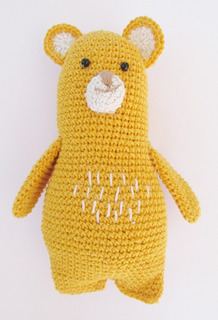Muñeco Tejido Amigurumi Crochet Oso Moce