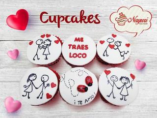 Cupcake Personalizados En Caja