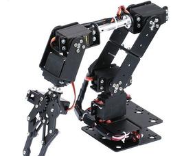 Braço Robótico Com 6 Servos P/ Arduino Kit