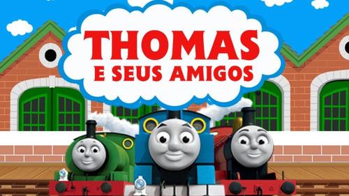 Projeto Proshow Thomas E Seus Amigos 100 Fotos