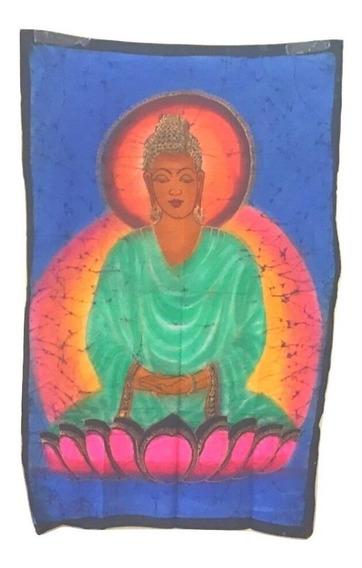 Tela Indiana Decoração Tecido Decorativo Buda