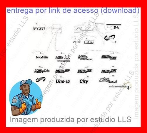 Catálogo Peças Fiat Uno Mille City Smart Eletronic 1991 20