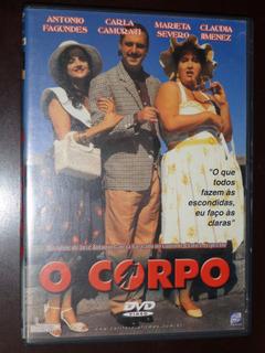 Dvd O Corpo 1991 Antonio Fagundes Filme Nacional