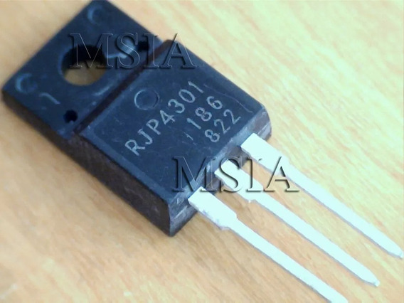 Rjp4301 Rjp 4301 To220f Novo, Transistor Flash