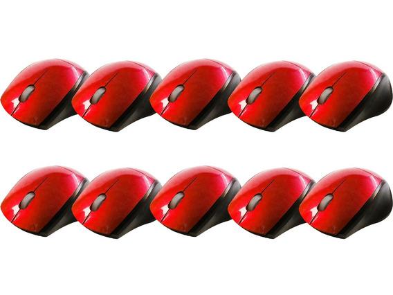 Mini Mouse Com Retrátil L-73 Kit Com 10 Peças