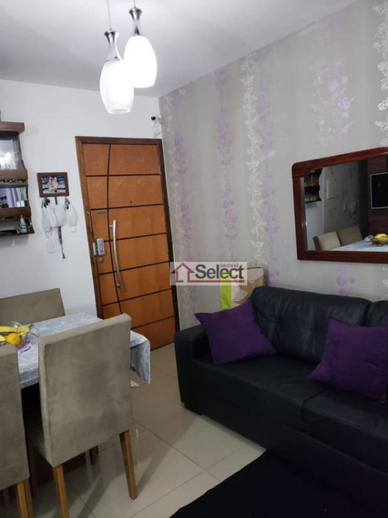 Apartamento Com 2 Dormitórios Para Alugar, 50 M² Por R$ 1.600,00/mês - Vila Carmosina - São Paulo/sp - Ap1215